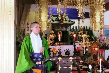 千葉県一宮町東榮寺の晋山式がありました