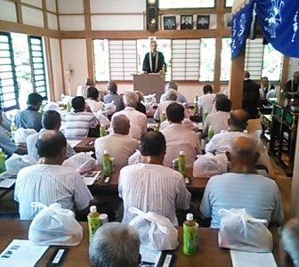 東浪見寺で天台宗南総教区第七部読経会が開催されました