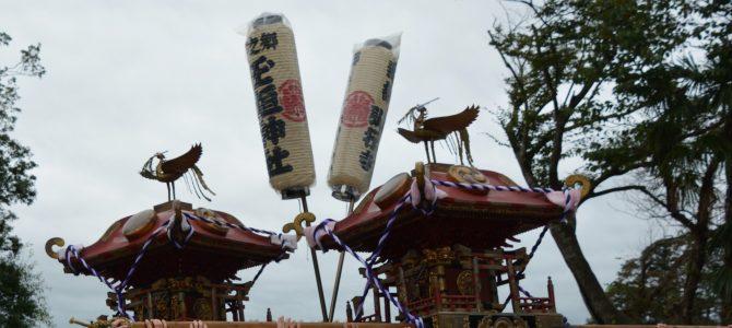9月13日上総十二社祭り、玉垣神社神輿