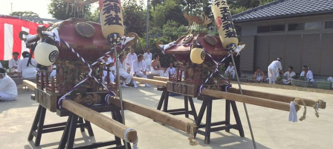 平成29年上総十二社祭り
